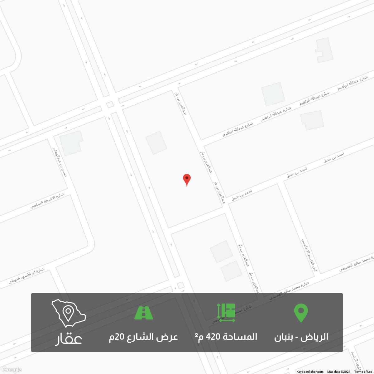 أرض للبيع في شارع عبدالله ابراهيم, ملهم