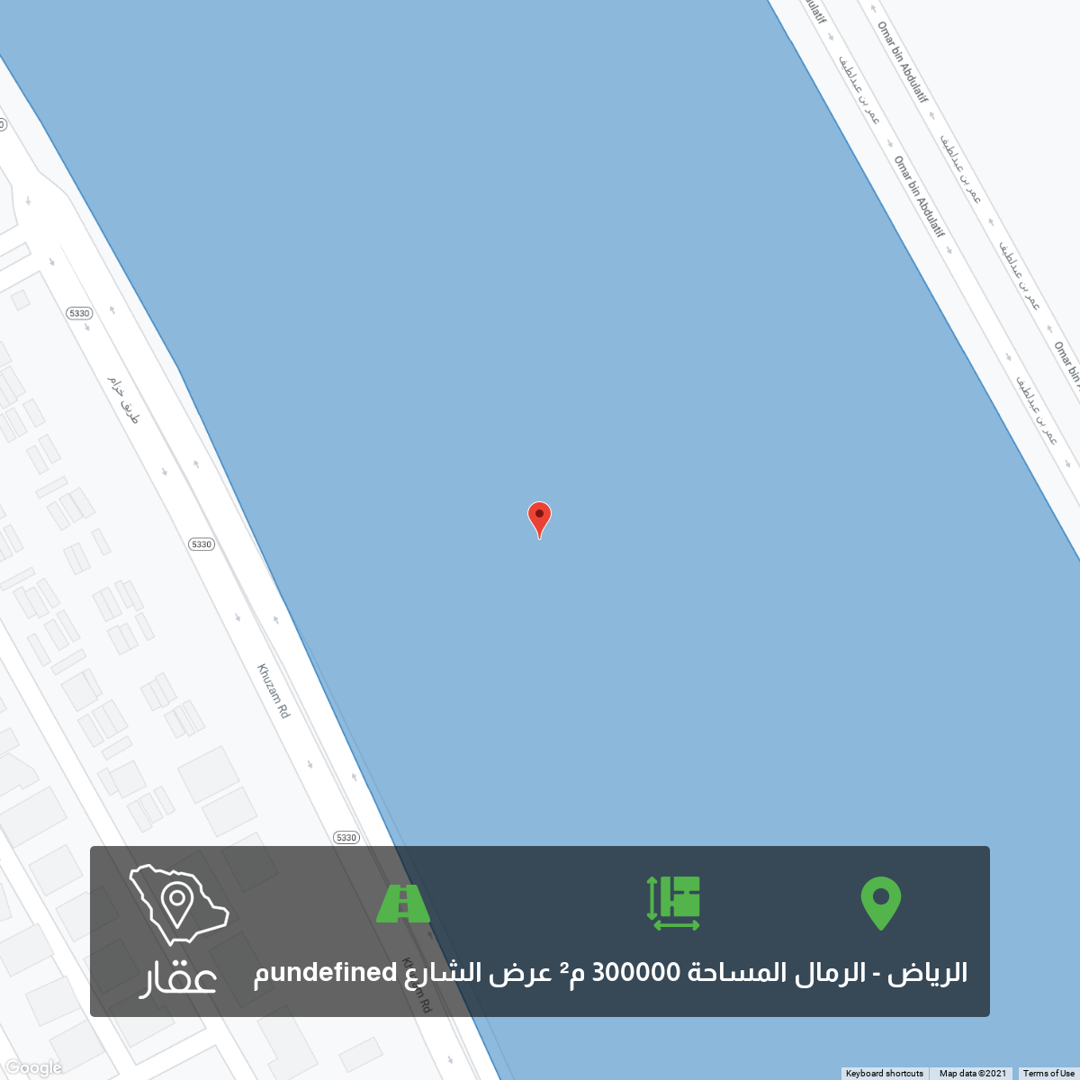 أرض للبيع في شارع محمد بن سلطان ، حي الرمال ، الرياض ، الرياض