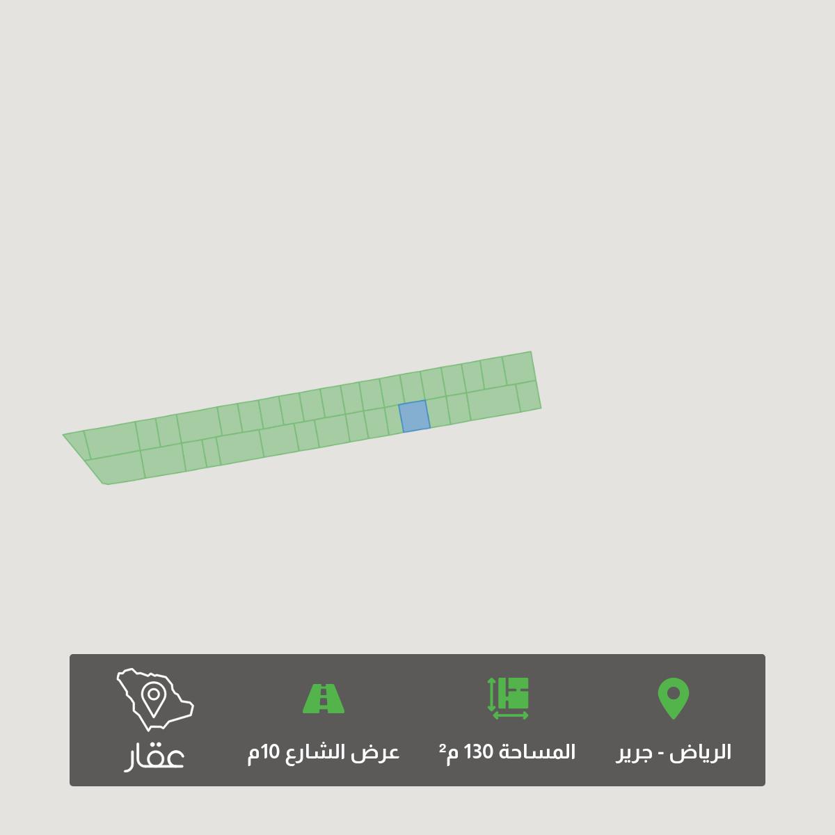 أرض للبيع في حي ، شارع ابن ابي عمران ، حي جرير ، الرياض ، الرياض