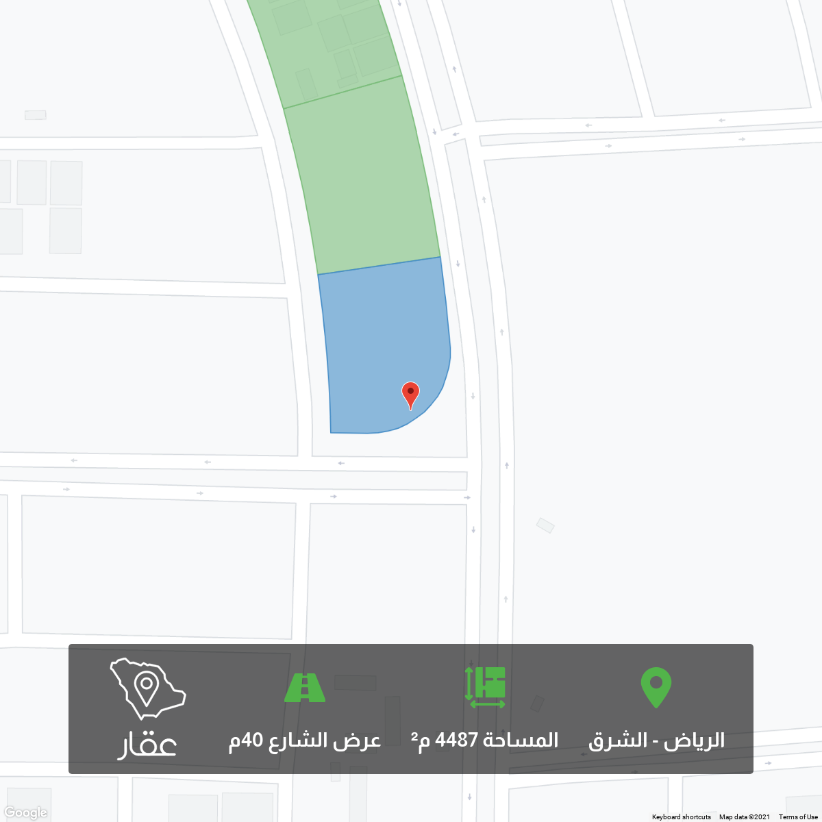 أرض للبيع في شارع البيان ، حي الشرق ، الرياض ، رماح