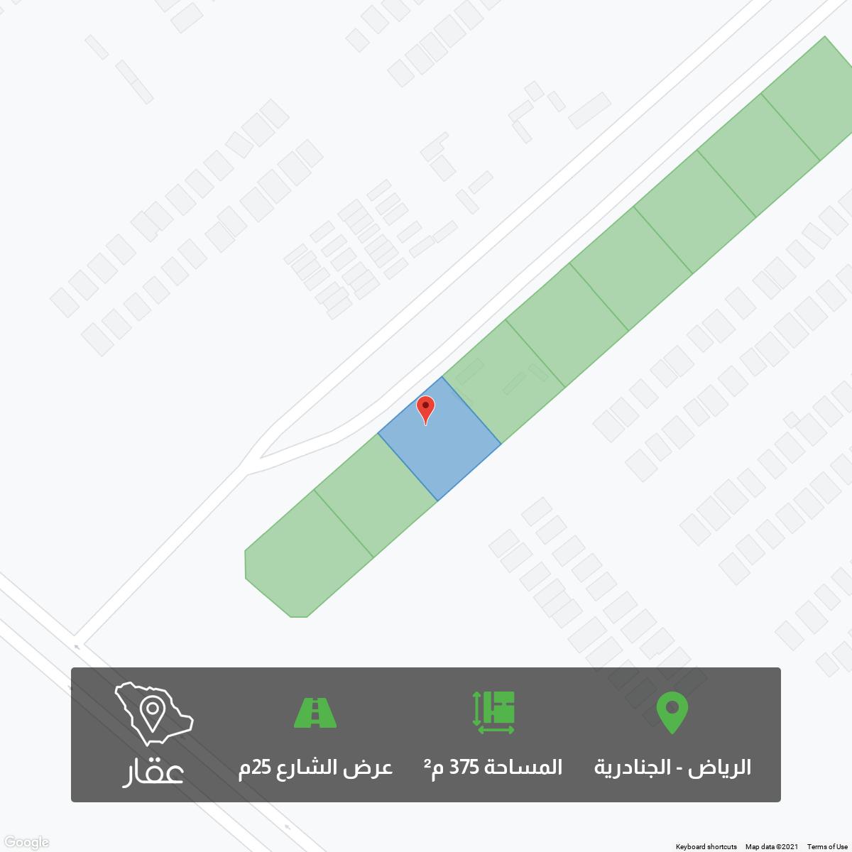 أرض للبيع في حي الجنادرية ، الرياض ، الرياض