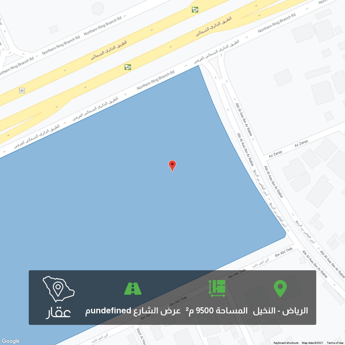 أرض للبيع في شارع الزرقا ، حي النخيل ، الرياض ، الرياض