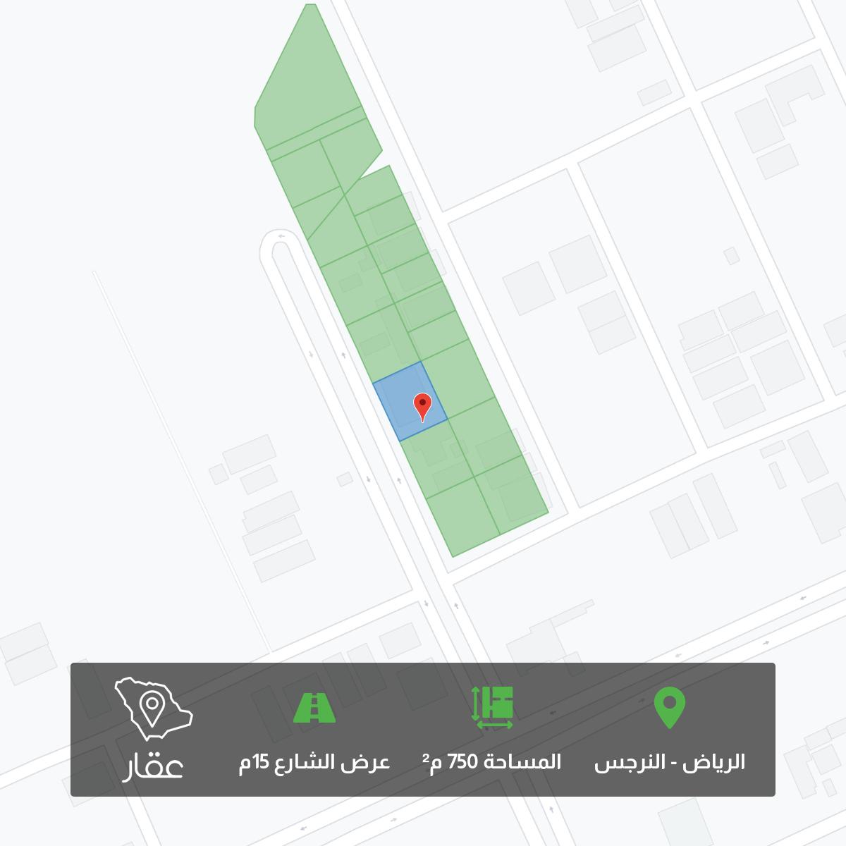 أرض للبيع في شارع احمد الثعلبي ، حي النرجس ، الرياض ، الرياض