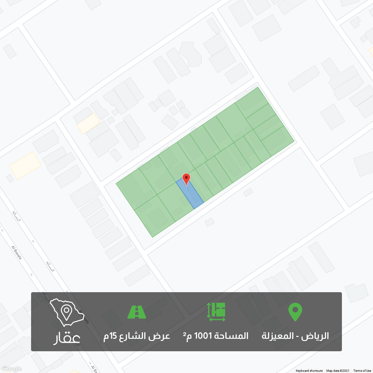 أرض للبيع في شارع الزبداني ، حي المعيزيلة ، الرياض ، الرياض