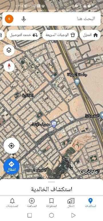 أرض للبيع في حي الخالدية - الدرعية ، الرياض ، الرياض