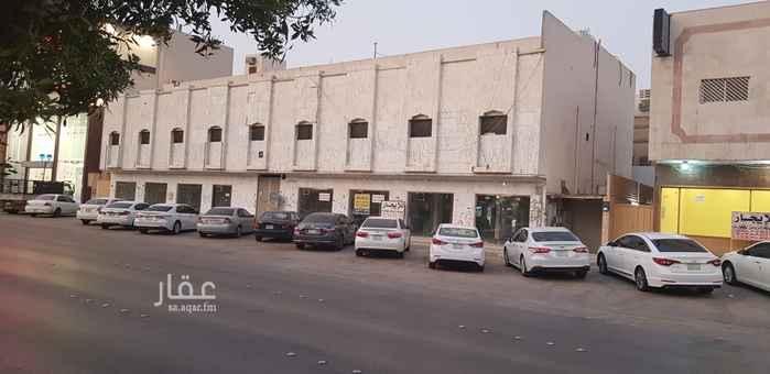 عمارة للإيجار في شارع حسان بن ثابت ، حي النسيم الغربي ، الرياض