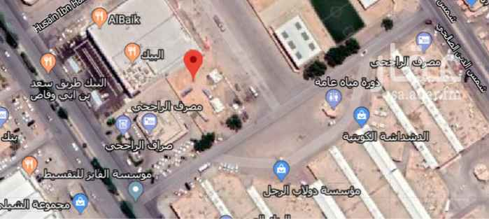 أرض للبيع في شارع سعد بن ابي وقاص ، حي النسيم الغربي ، الرياض
