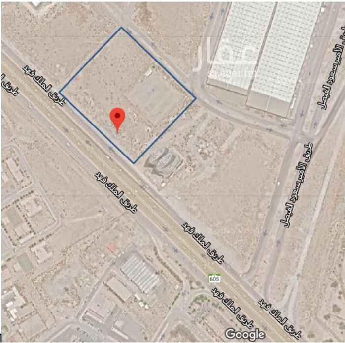 أرض للبيع في طريق الملك فهد بن عبد العزيز ، حي الخالدية الجنوبية ، الدمام