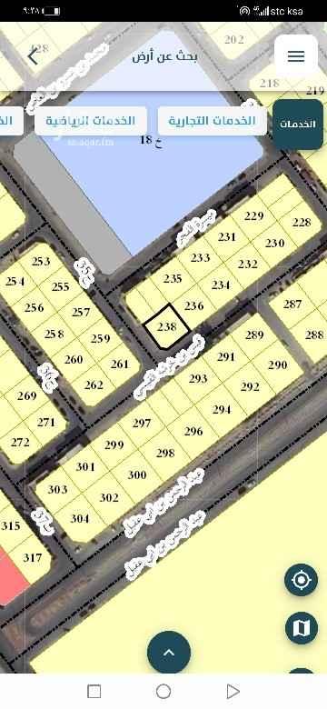 أرض للبيع في شارع 36 ج ، حي طيبة ، الدمام ، الدمام