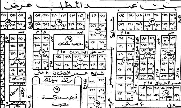 أرض للبيع في شارع ذهبان ، حي الازدهار ، الرياض ، الرياض