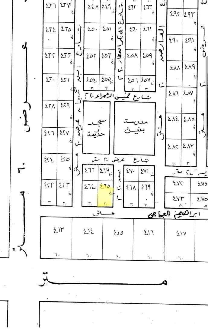 أرض للبيع في شارع زيد بن اسلم ، حي المحمدية ، الرياض ، الرياض