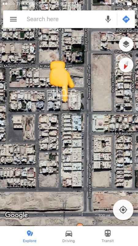 أرض للبيع في شارع Suwayd Ibn Harithah, حطين, الرياض