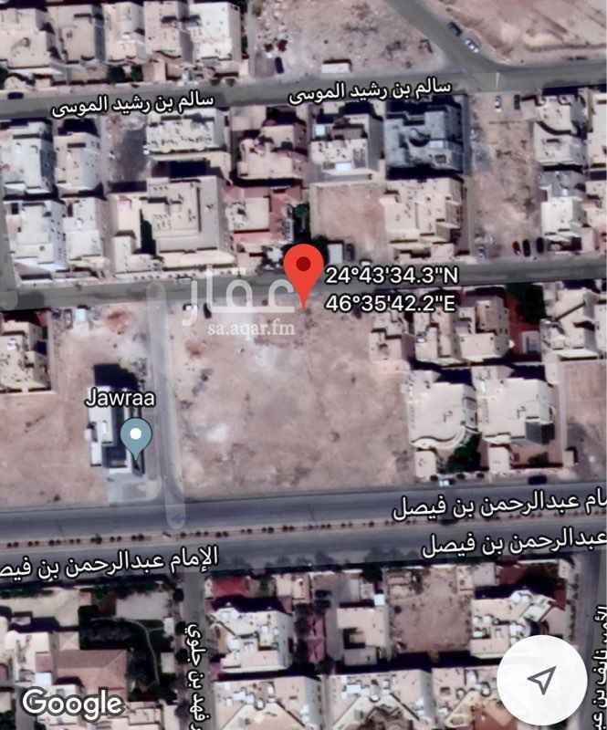 أرض للبيع في شارع ، شارع الإمام عبدالرحمن بن فيصل ، الرياض