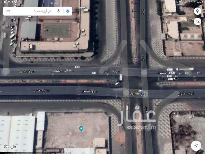 أرض للإيجار في شارع الحمراء ، حي السلي ، الرياض