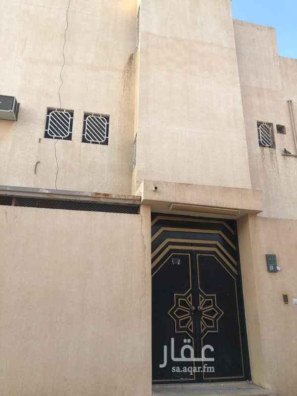 دور للإيجار في شارع محمد بن ابان ، حي الزهرة ، الرياض ، الرياض