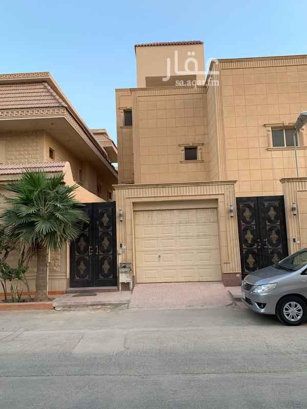 دور للإيجار في شارع القطن ، حي الندى ، الرياض