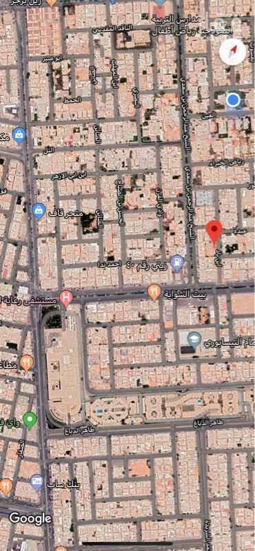 أرض للبيع في شارع ابن باد ، حي الريان ، الرياض