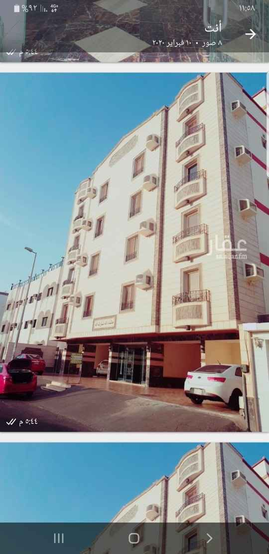 شقة للإيجار في شارع عبيدالله بن مالك ، حي البوادي ، جدة ، جدة
