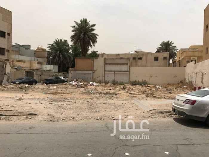أرض للبيع في شارع الفرزدق, الضباط, الرياض