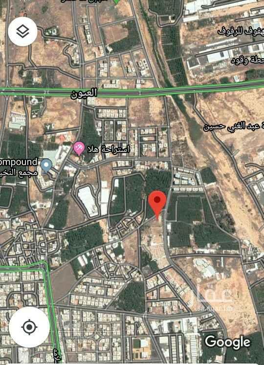 أرض للبيع في شارع ساعدة بن هلوات المازني ، حي العيون ، المدينة المنورة ، المدينة المنورة