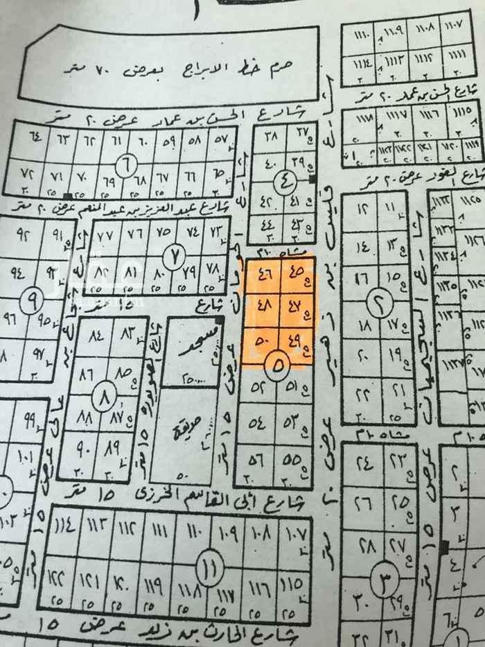 أرض للبيع في شارع القنادية ، حي العقيق ، الرياض ، الرياض