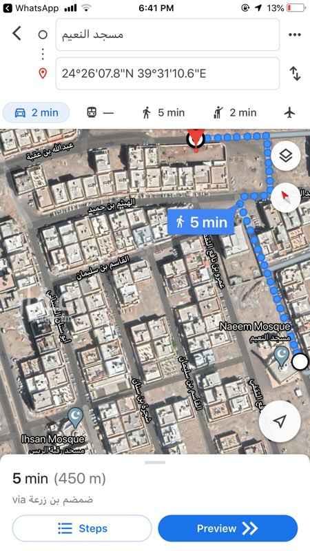 أرض للبيع في شارع عبدالله بن ابراهيم بن يوسف ، حي الدفاع ، المدينة المنورة ، المدينة المنورة