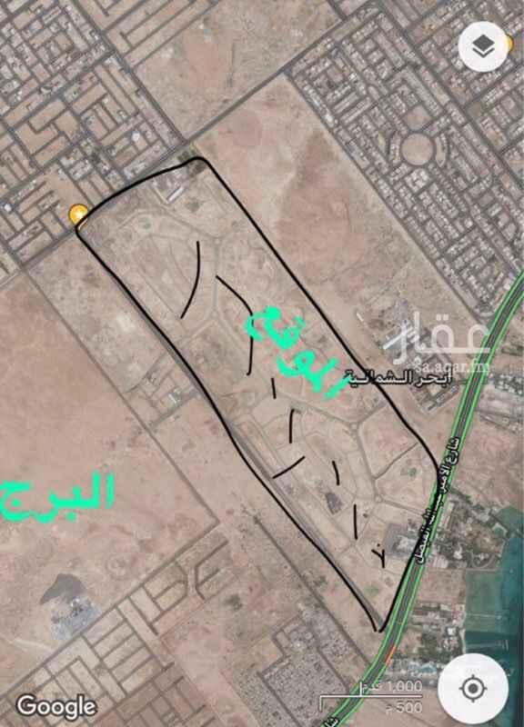 أرض للبيع في حي أبحر الشمالية ، جدة ، جدة