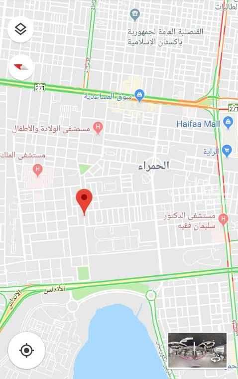 أرض للبيع في شارع احمد الغزاوي ، حي الحمراء ، جدة