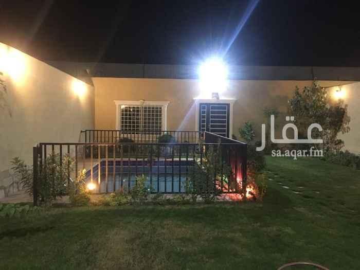 استراحة للإيجار في طريق علي البجادي, الرمال, الرياض