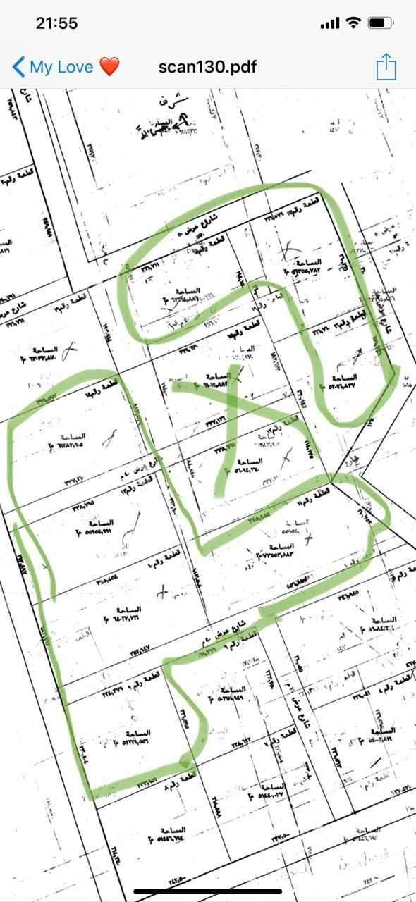 أرض للبيع في طريق مكة المكرمة ، خبيب الريم ، المزاحمية