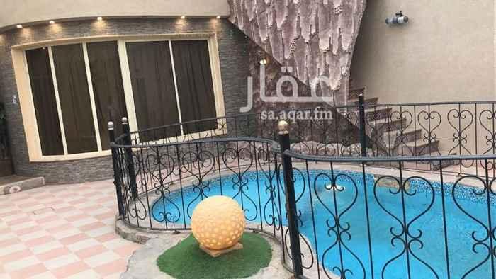 استراحة للبيع في شارع أبو سعيد النقاش ، حي العوالي ، الرياض