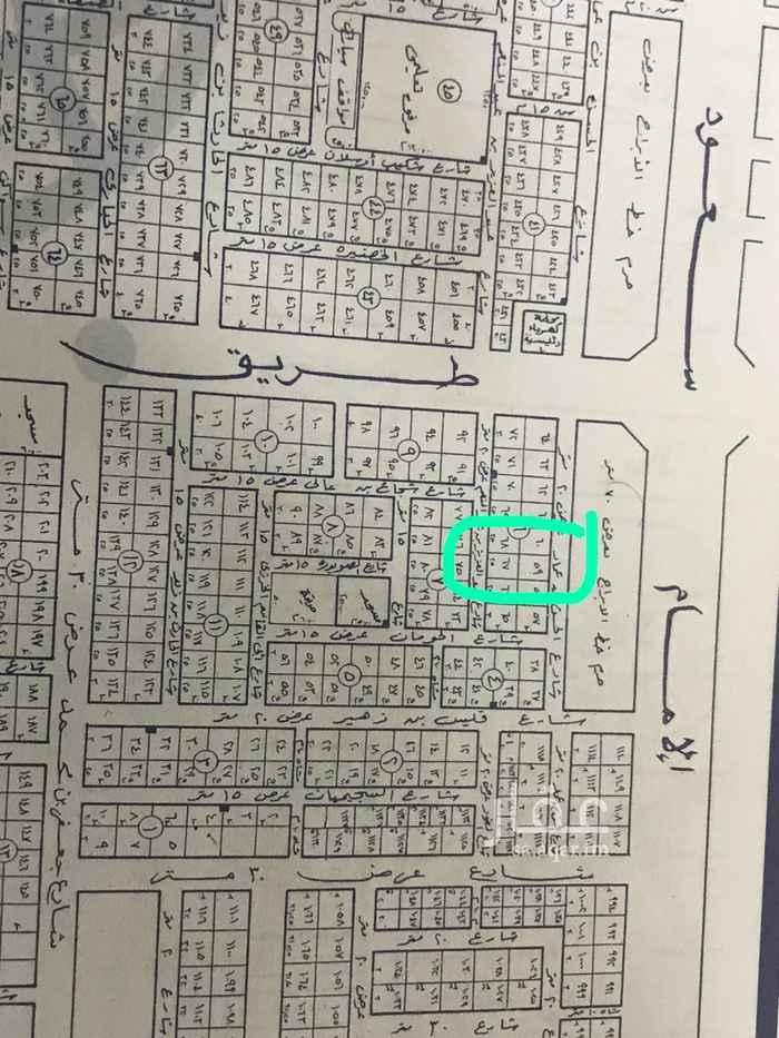 أرض للبيع في شارع عبدالعزيز بن عبدالمنعم ، حي العقيق ، الرياض ، الرياض