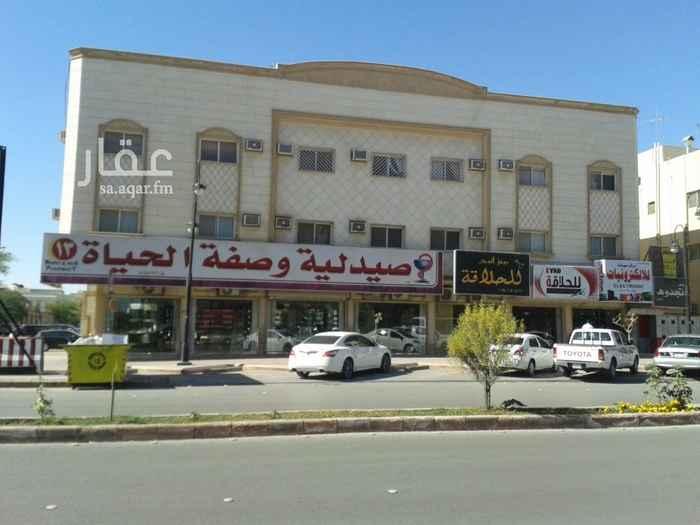 محل للإيجار في شارع المهندس مساعد العنقري ، حي الورود ، الرياض ، الرياض