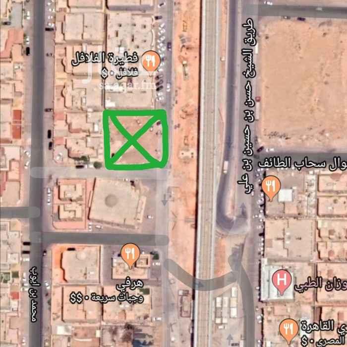 أرض للإيجار في شارع الشيخ حسن بن حسين بن علي ، حي الحمراء ، الرياض ، الرياض