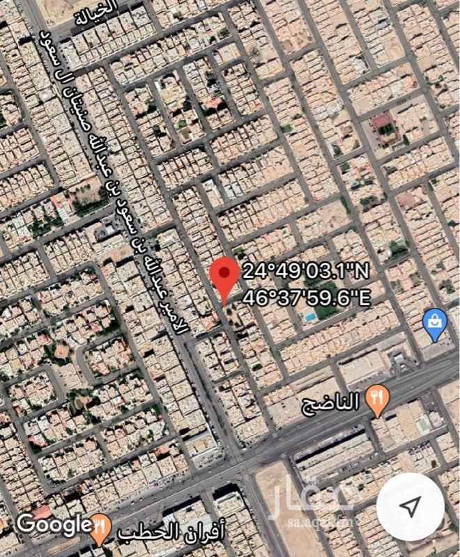 أرض للبيع في شارع الندوة ، حي الياسمين ، الرياض ، الرياض
