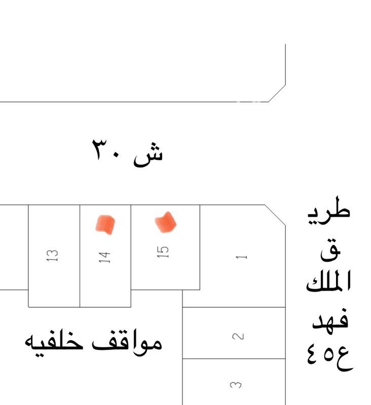 أرض للبيع في شارع الأمير بندر بن عبدالعزيز ، حي الشاطيء ، جازان ، جزان