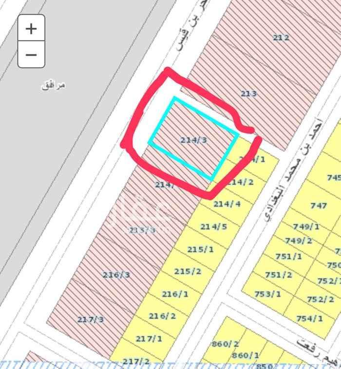 أرض للإيجار في شارع الحر بن قيس ، حي عكاظ ، الرياض