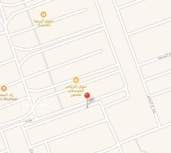أرض للبيع في شارع الأمير متعب بن عبدالعزيز ، حي الربوة ، الرياض