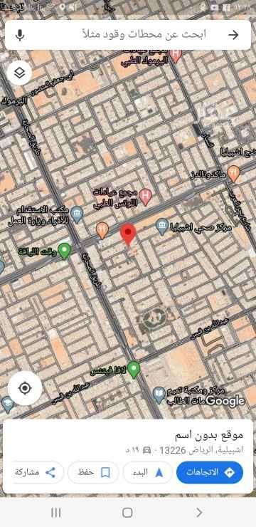 أرض للبيع في شارع سليمان بن سحمان ، حي اشبيلية ، الرياض ، الرياض
