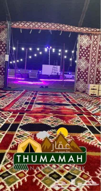 مخيم للإيجار في محطة كهرباء حي قرطبة ، طريق الثمامة ، الرياض