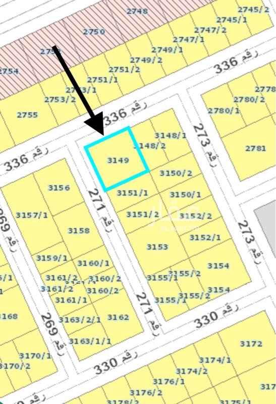 أرض للبيع في شارع رقم 336 ، الرياض ، الرياض