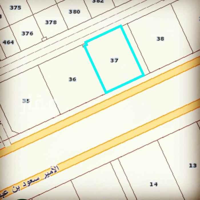 أرض للبيع في شارع ، شارع الامير سعود بن عبدالله بن جلوي ، حي القيروان ، الرياض ، الرياض
