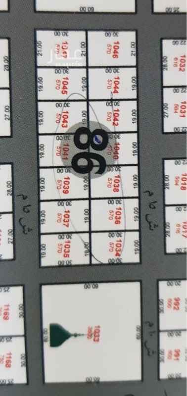 أرض للبيع في شارع 173 ح ، حي الشاطيء ، جازان ، جزان