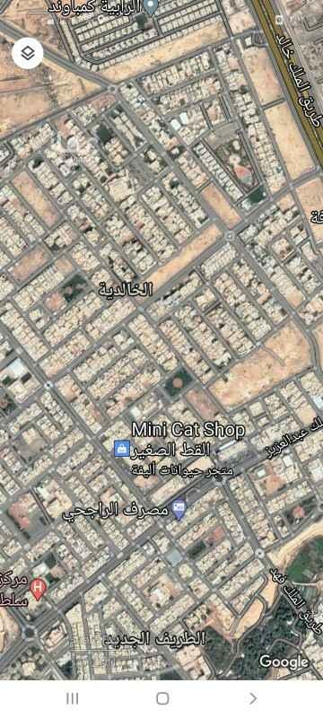 أرض للبيع في شارع ابي بحير ، حي الخالدية - الدرعية ، الرياض ، الرياض