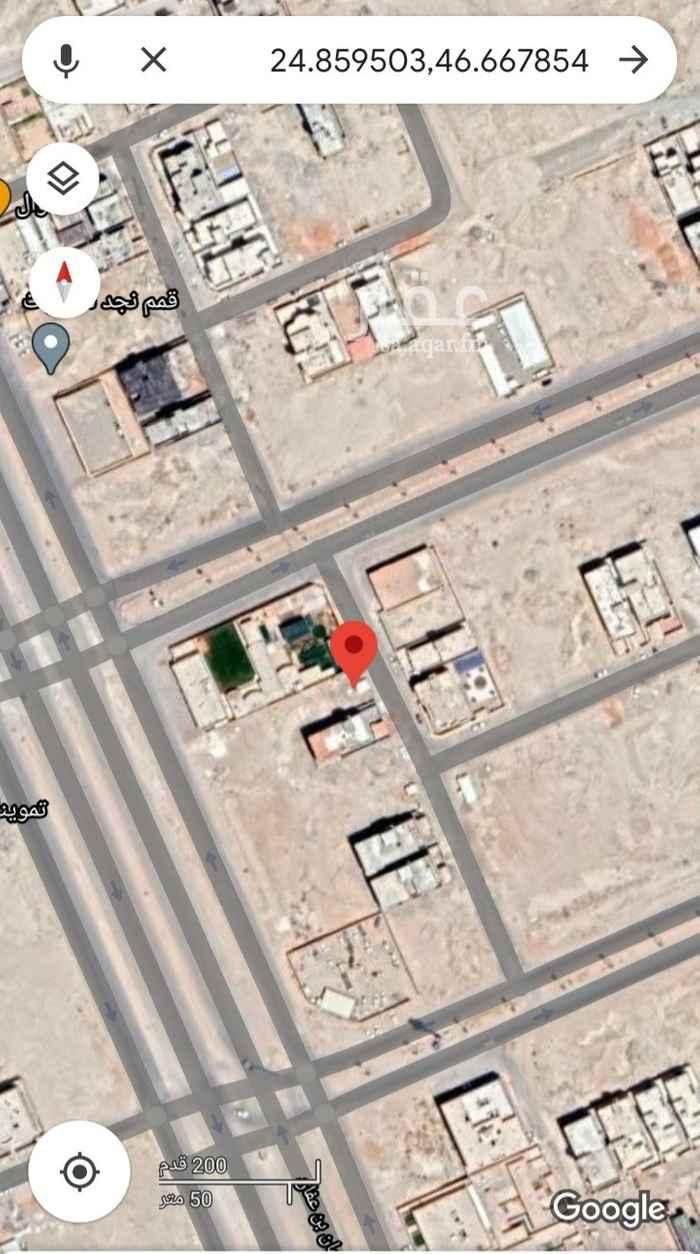 أرض للإيجار في شارع علقمه بن وائل ، حي النرجس ، الرياض