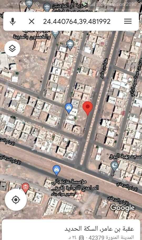 أرض للإيجار في حي ، شارع عبدالله بن محمد الحراني ، حي السكة الحديد ، المدينة المنورة ، المدينة المنورة