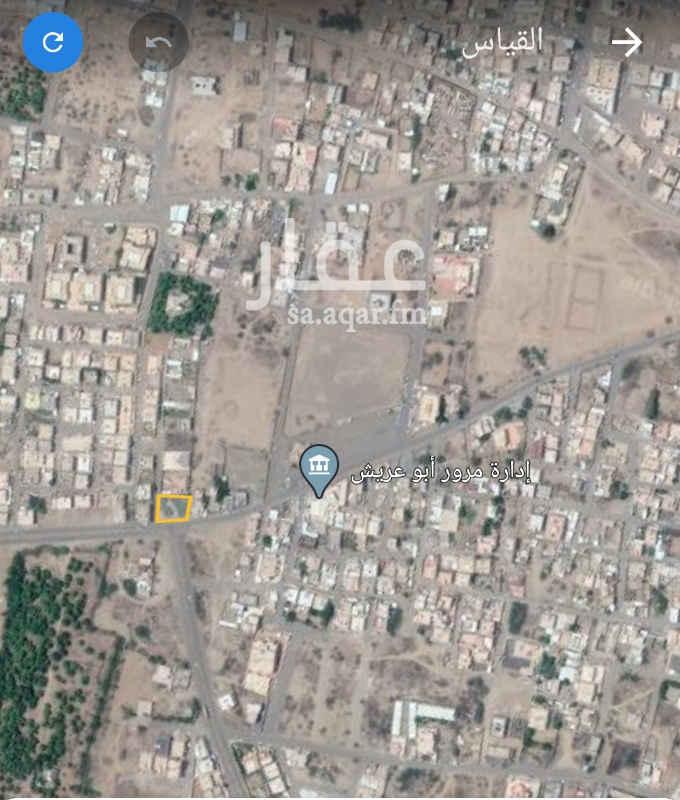 أرض للإيجار في شارع الملك سعود ، حي النهضة ، أبو عريش ، ابو عريش