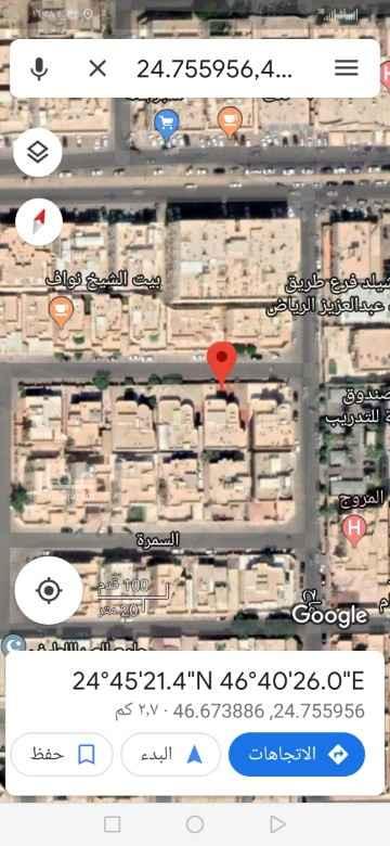 أرض للبيع في شارع سليمان بن يوسف ، حي المروج ، الرياض ، الرياض