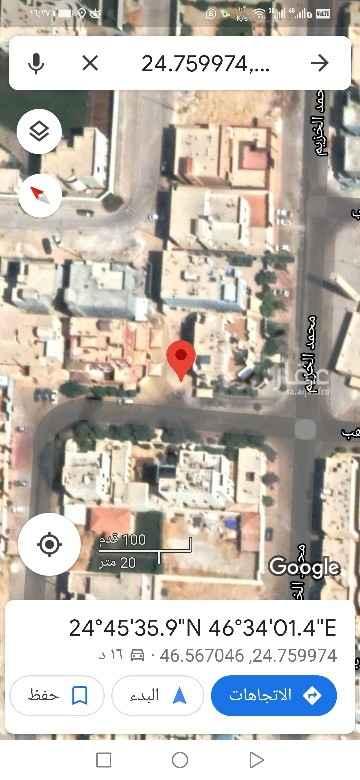 أرض للبيع في شارع ابن موهب ، حي الخالدية - الدرعية ، الرياض ، الرياض