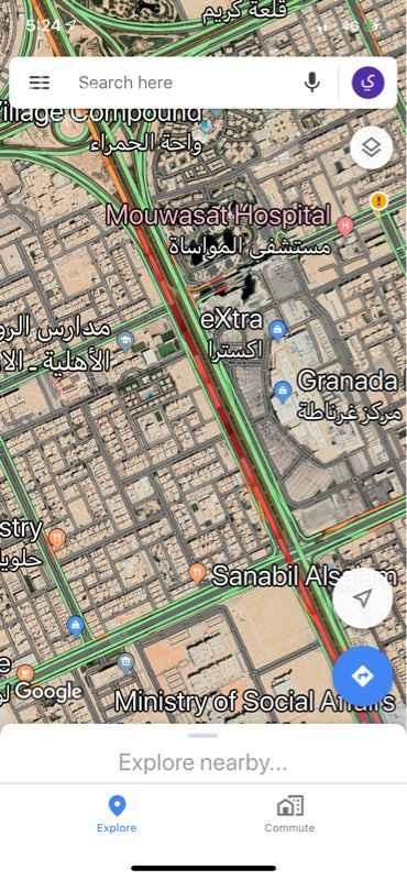 أرض للبيع في طريق الامام سعود بن عبدالعزيز بن محمد الفرعي ، حي الازدهار ، الرياض ، الرياض